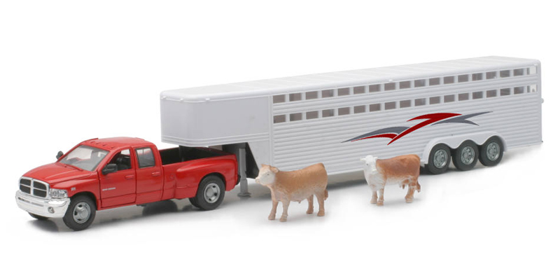 SS-10923C - New-Ray Toys Dodge Ram Fifth Wheel