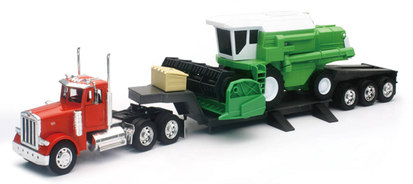 SS-11253A - New-Ray Toys Peterbilt 379 Lowboy