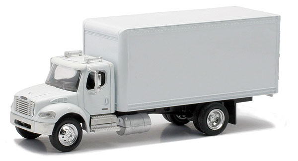 SS-16003 - New-Ray Toys Freightliner M2 White Box Truck Cab is