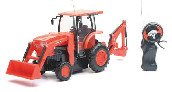 SS-34123 - New-Ray Toys Kubota Remote Controlled L6060