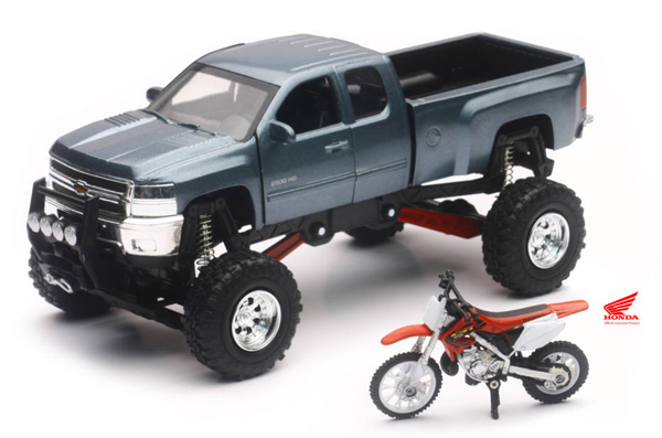 SS-54426 - New-Ray Toys Chevrolet Silverado Off Road Pickup