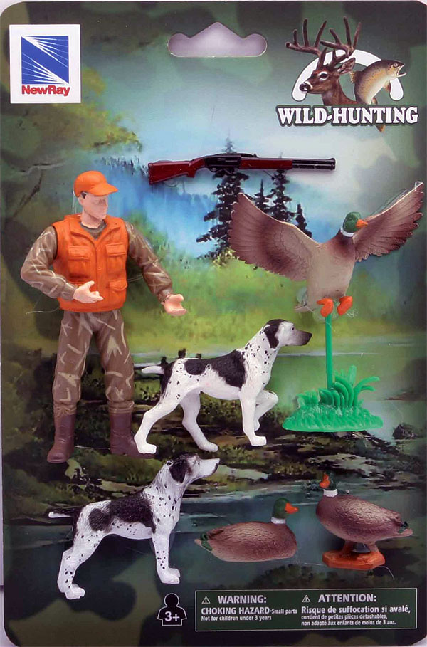 SS-76302-A - New-Ray Toys Hunting Set