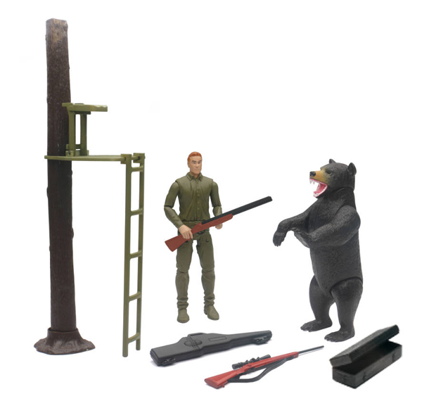 SS-76416A - New-Ray Toys Wildlife Hunting Playset