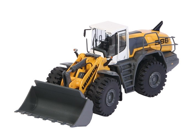 1006 - NZG Model Liebherr L 586 Wheel Loader Updated Design