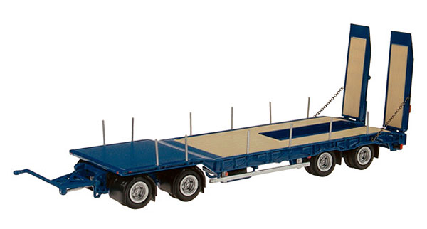 546-20 - NZG Model Nooteboom ASD40 deep bed loader Flatbed Trailer