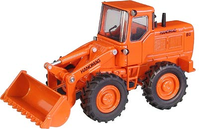 598 - NZG Model Hanomag B8 Wheel loader