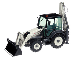 682 - NZG Model Terex 860SX Backhoe Loader