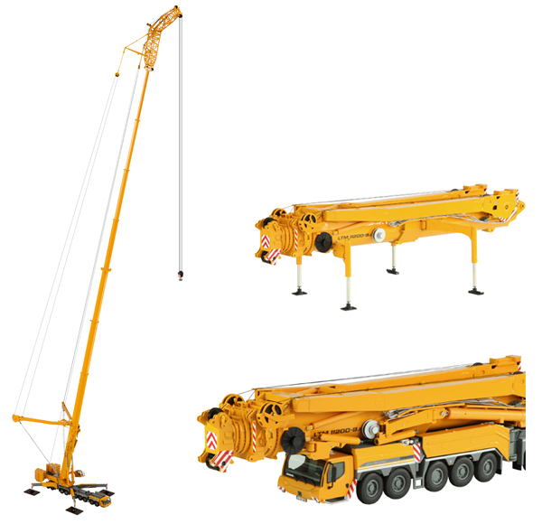 732 - NZG Model Liebherr LTM11200 91 Mobile Crane