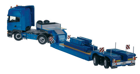 757-20 - NZG Model Nooteboom Scania R 6x4 heavy weight truck
