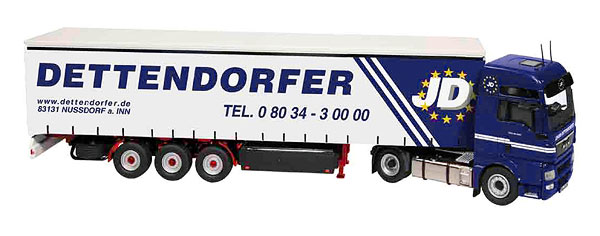 848-05 - NZG Model Dettendorfer MAN TGX