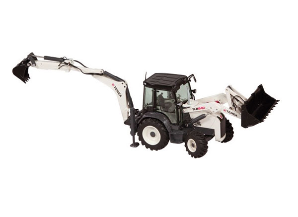 867 - NZG Model Terex TLB840 Sideshift Backhoe Loader