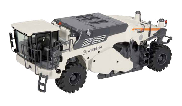8712 - NZG Model Wirtgen WR 240i Cold Recycler and Soil