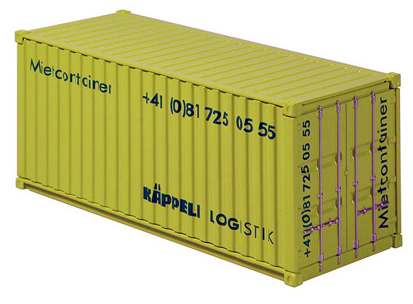 875-06 - NZG Model Kappeli 20ft Sea Container