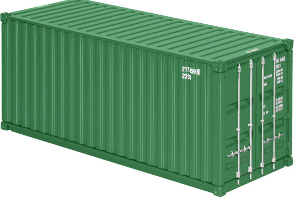 875-12 - NZG Model 20 Sea Container