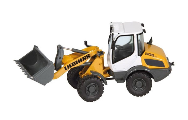 886 - NZG Model Liebherr L506 Compact Wheel Loader