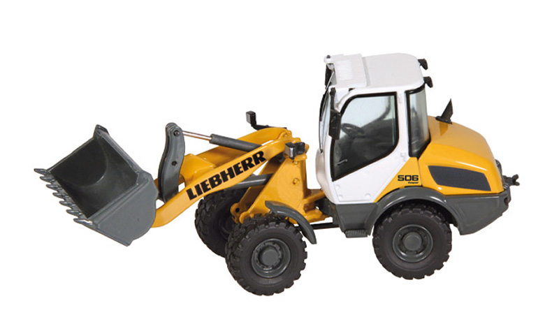 8861 - NZG Model Liebherr L 506 Compact Wheel Loader Updated
