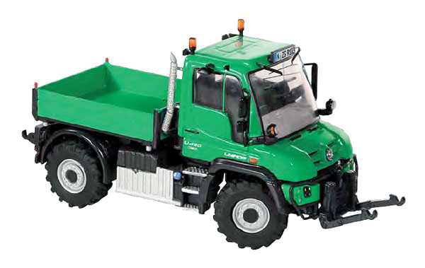 9103 - NZG Model Mercedes Benz Unimog U 400 Agricultural Version