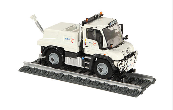 9104-03 - NZG Model ETF Mercedes Benz Unimog UGE400 Two Way