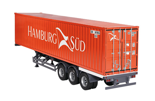 9791-01 - NZG Model Hamburg Container Trailer