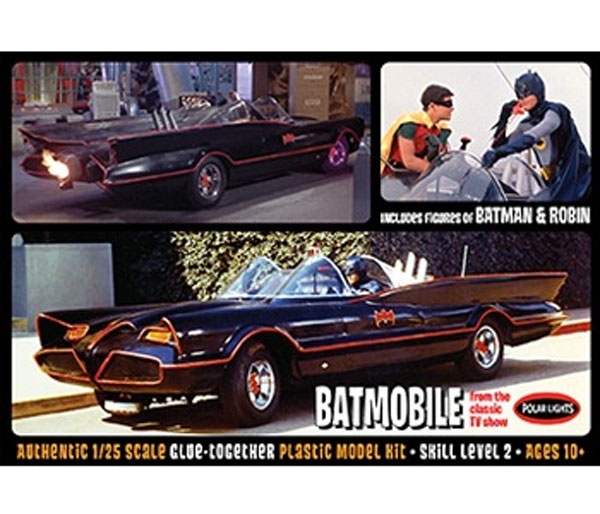 920 - Polar Lights 1966 Batmobile