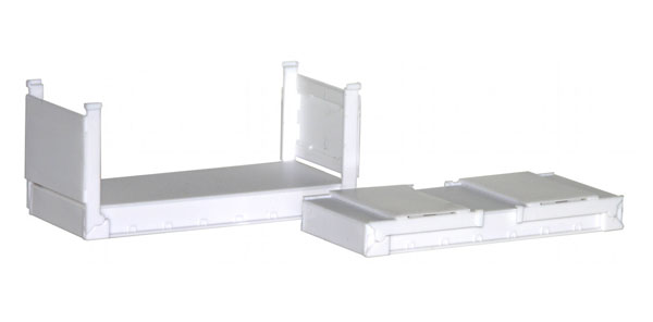 005460 - Promotex 20 Stackable Flat Containers