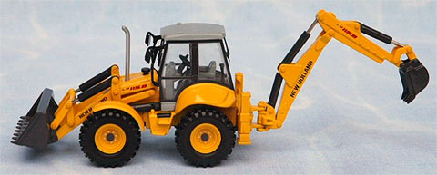 001909 - ROS New Holland LB 115B Backhoe Loader