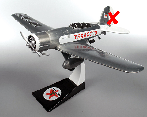 5908-01-X - Round 2 Wings of Texaco Airplane Series 18 2010