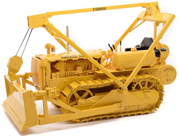 CUST-1432 - Spec-cast Caterpillar D4 2T Crawler