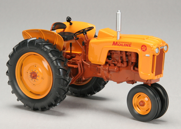 SCT-626 - Spec-cast Minneapolis Moline 4 Star Narrow Front Tractor