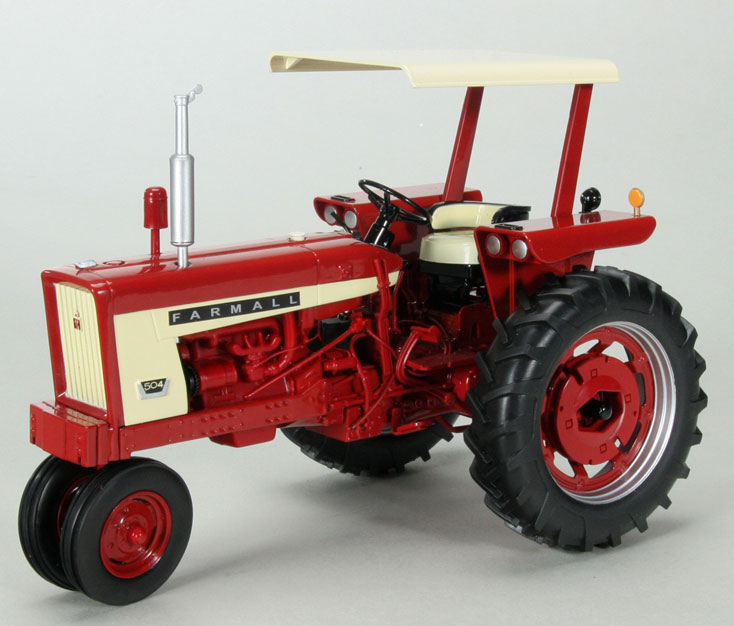 ZJD-1739 - Spec-cast Farmall 504 Gas Narrow Front Tractor