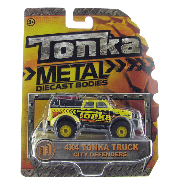 07398 - Tonka 4x4 Tonka Truck Tonka City Defenders Collection