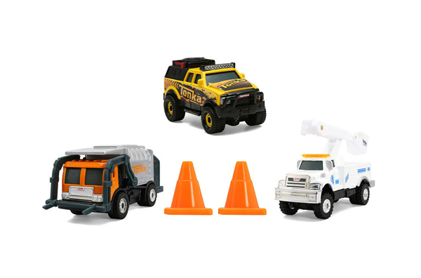 07419 - Tonka City Defenders 3 Pack Collection Garbage Carrier