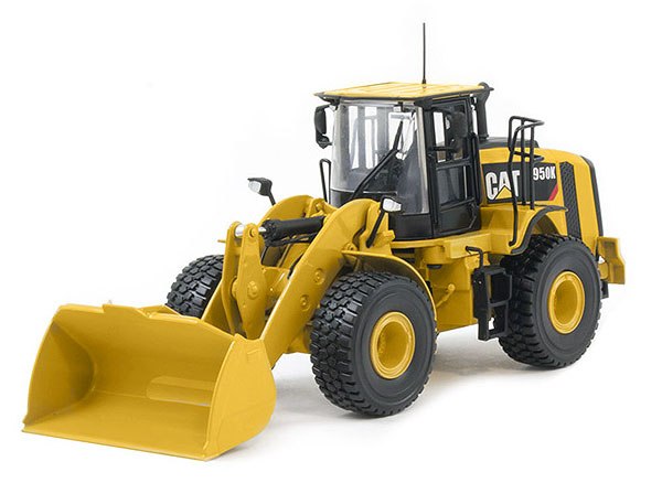 10007 - Tonkin Replicas Caterpillar 950K Wheel Loader Articulated steering Oscillating