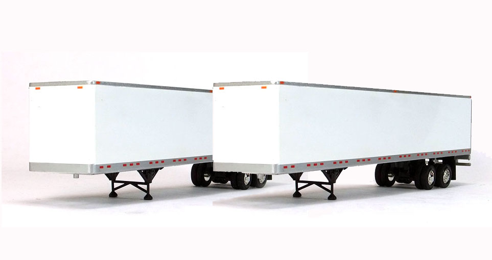 12-I018-PAIR - Tonkin Replicas 53 Dry Van Trailer 2 Pieces PEM