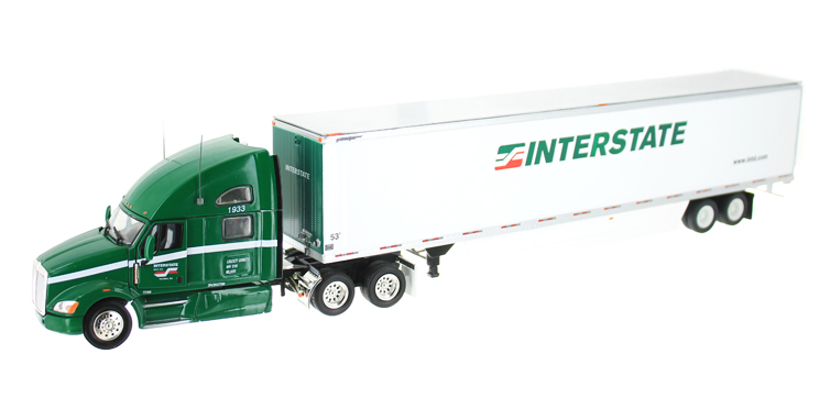 13510A - Tonkin Replicas Interstate Distribution Kenworth T700 Tractor