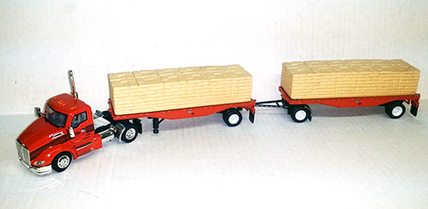 14006401 - Tonkin Replicas Tiger Lanes Kenworth T680 Day Cab