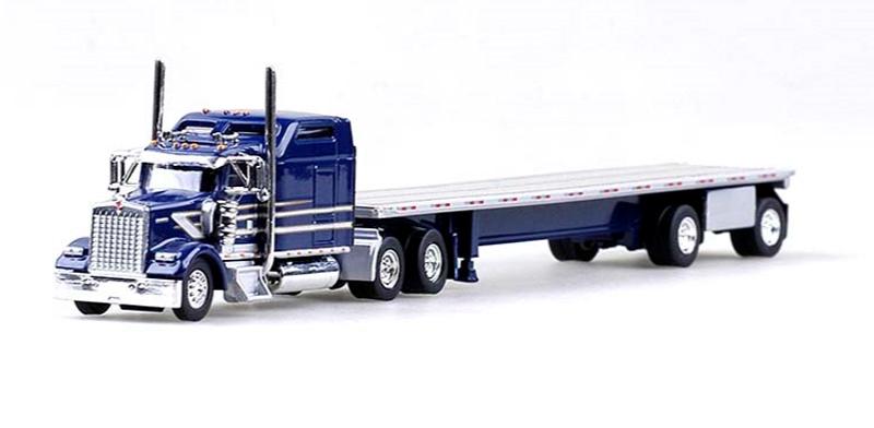 HEIL PETROLEUM POLISHED TANKER TRAILER TONKIN TNS 1//87 Truck HO Scale 95013