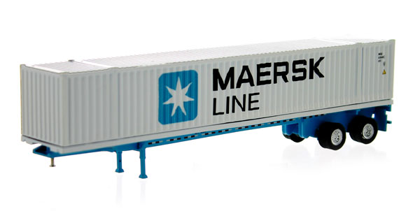 87168 - Tonkin Replicas Maersk 53 Container and Chassis Only