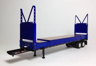 P0038332 - Tonkin Replicas Super Rack Container on trailer chassis