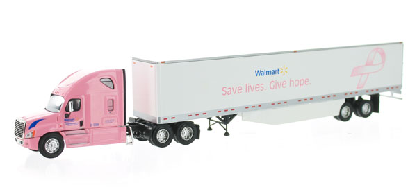 P1010006 - Tonkin Replicas Walmart Breast Cancer Awareness Freightliner Cascadia