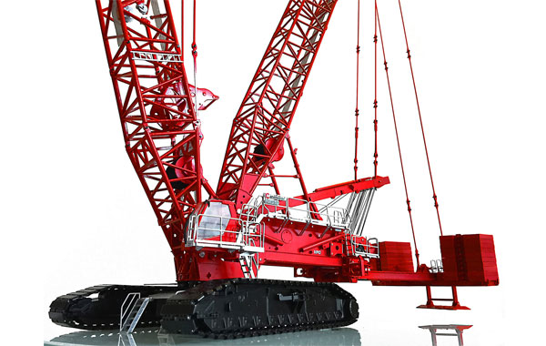 MLC650 - Towsleys Manitowoc MLC650 Lattice Boom Crawler Crane
