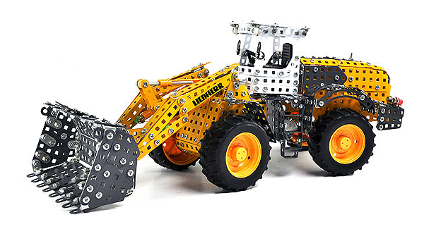 Tronico 10090 1:16 Liebherr Wheeled Front Loader Metal Construction Kit