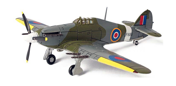 35090 - Unimax UK Hurricane RAF serial LF686 Smithsonian Series