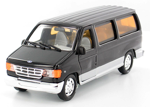 18302BK - Unique Replicas Ford Econoline Club Wagon