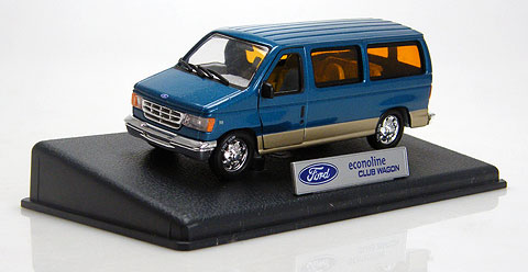 18302BL - Unique Replicas Ford Econoline Club Wagon Van