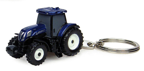 5585 - Universal Hobbies New Holland T7210 Blue Power Tractor Key