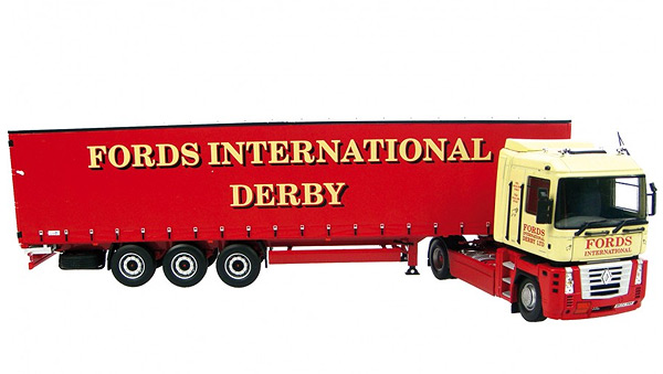 5638-X - Universal Hobbies Fords International Derby Renault Magnum 500AE MODEL