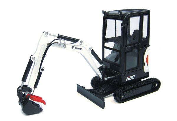 8098 - Universal Hobbies Bobcat E20 Compact Tracked Excavator