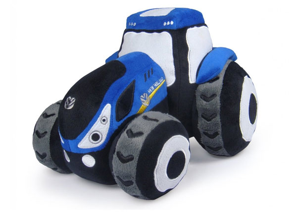 K1103 - Universal Hobbies New Holland T7 Tractor Excavator Plush Toy