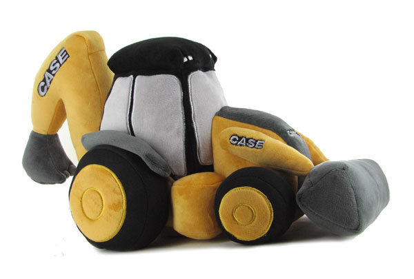K1104 - Universal Hobbies Case CE Backhoe Loader Plush Toy UH